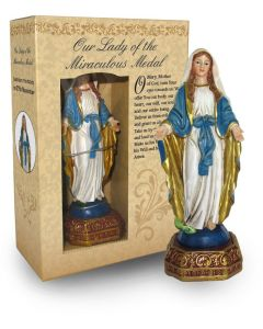 Our Lady of the Miraculous Medal (Immaculate Conception) Statue - Boxed