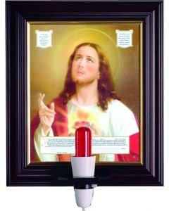 """12"""" x 10"""" Sacred Heart – Consecration Picture"""