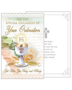 Card/Celebrate Your Ordination With Insert