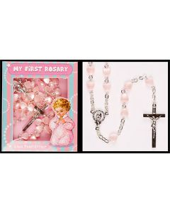 Glass Rosary/My First Rosary/Girl