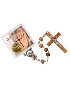 Rosary Olive Woods  with Crucifix