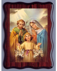 Laminated Picture/ Holy Family