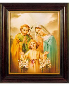 Framed Picture/ Holy Family