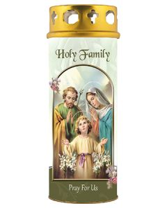 Candle/Holy Family/Windproof Cap