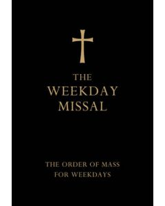 The Weekday Missal (Deluxe Black Leather Gift Edition): The New Translation of the Order of Mass for Weekdays
