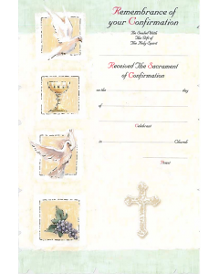 Remembrance of your Confirmation