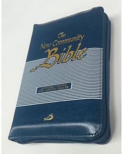 The New Community Bible - Blue Zipped Edition (POCKET)