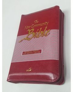The New Community Bible - Red Zipped Edition (POCKET)
