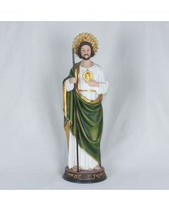 24 Inch St Jude Statue- Polyresin