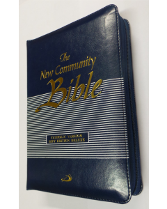 The New Community Bible - Blue Zipped Edition